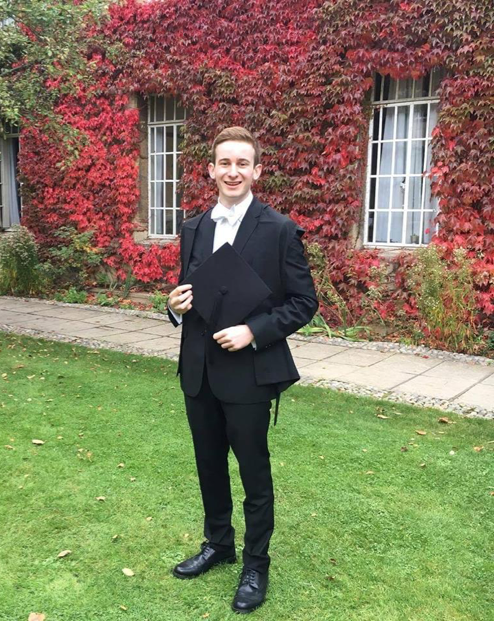 Jacob Greenhouse, Second Year Theology